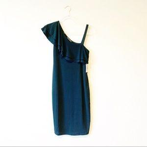 Jessica Simpson One Shoulder Maternity Dress